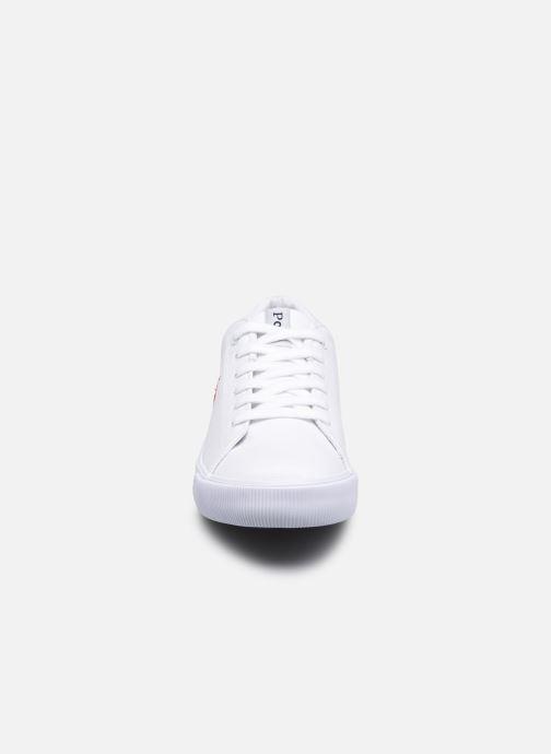 Sneakers Polo Ralph Lauren Elmwood Bianco modello indossato