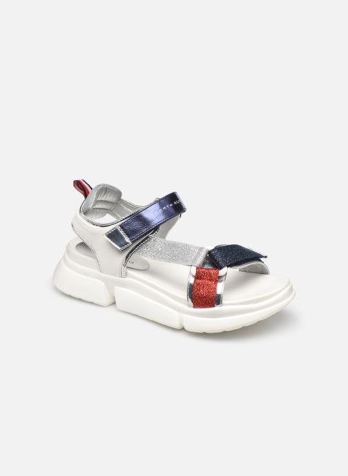Sandales et nu-pieds Tommy Hilfiger Velcro Sandal Multicolor Multicolore vue détail/paire