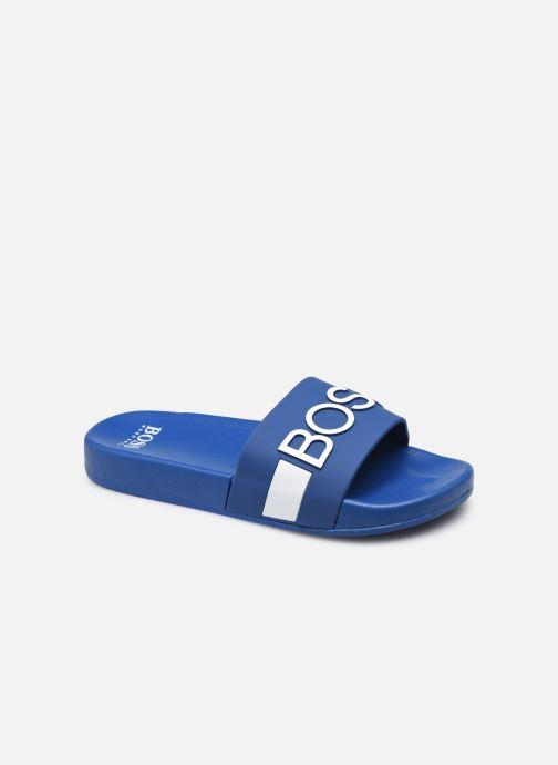 Sandalias BOSS J29246 Azul vista de detalle / par