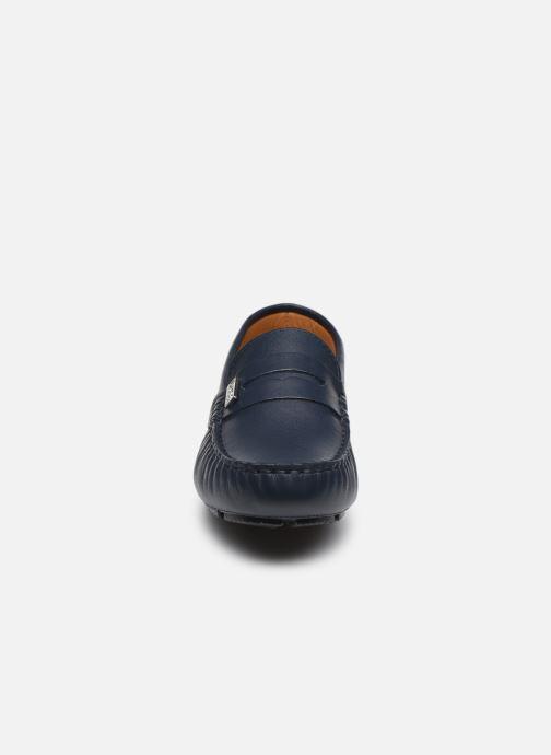 Slipper BOSS J29255 blau schuhe getragen
