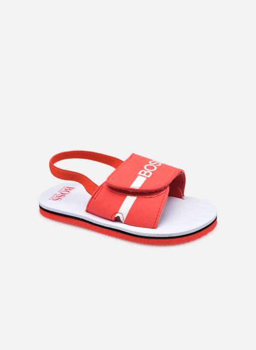Sandalen BOSS J09143 Rood detail