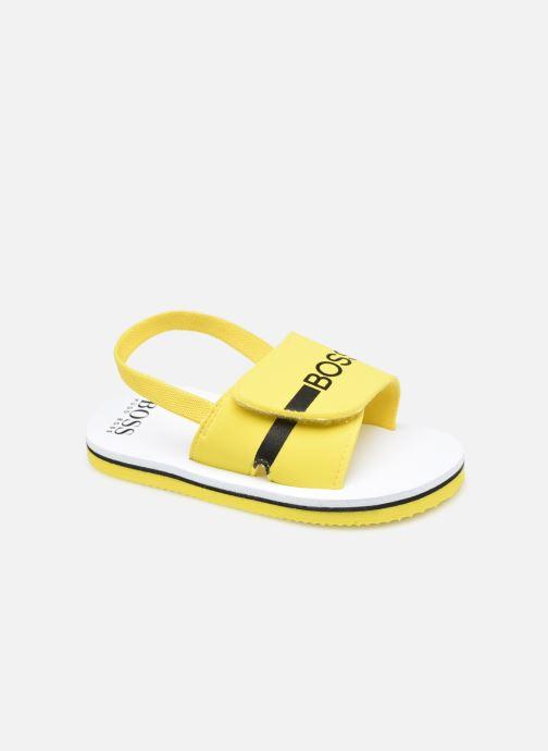 Sandalen BOSS J09143 gelb detaillierte ansicht/modell