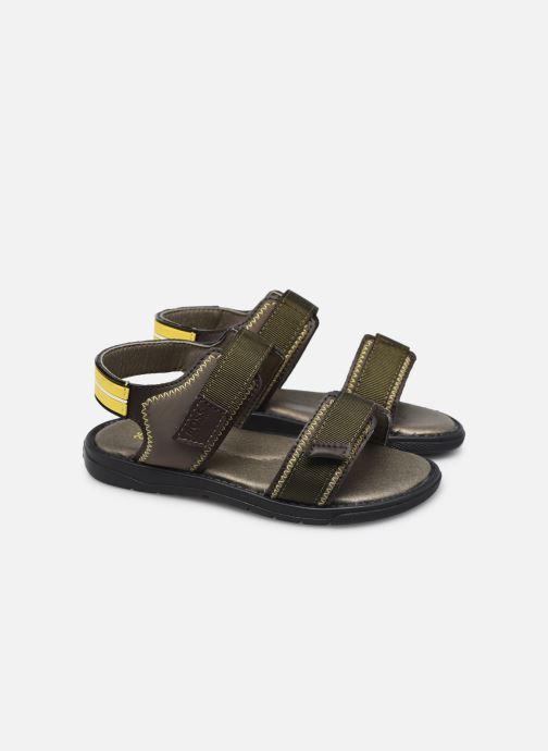 Sandali e scarpe aperte BOSS J09153 Marrone immagine 3/4