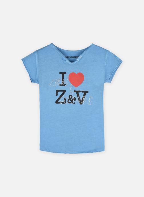 Vêtements Zadig & Voltaire X15272 Bleu vue détail/paire