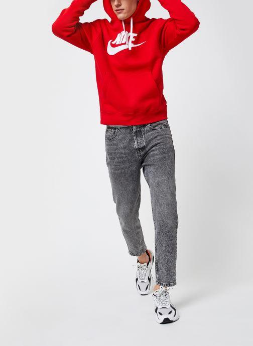 Kleding Nike M Nsw Club Hoodie Po Bb Gx Rood onder
