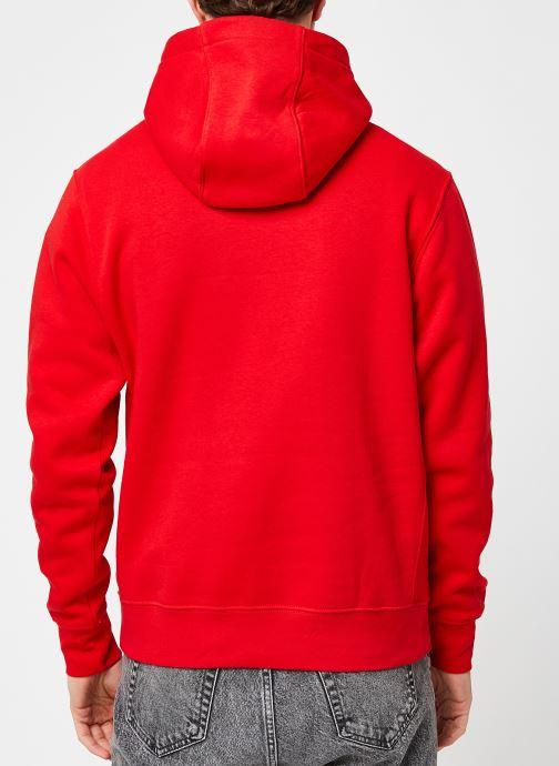 Kleding Nike M Nsw Club Hoodie Po Bb Gx Rood model