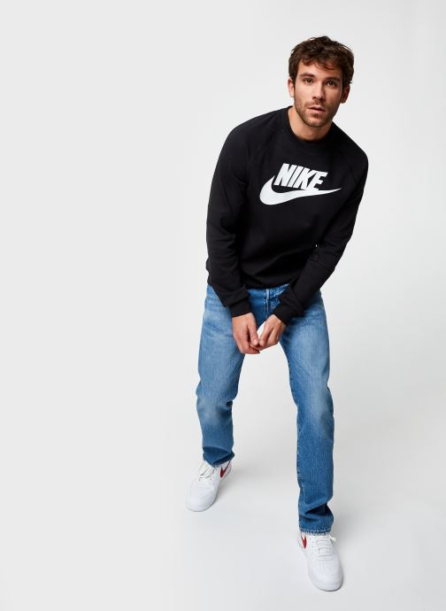 Vêtements Nike M Nsw Modern Crw Flc Hbr Noir vue bas / vue portée sac