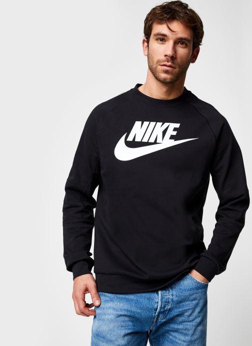 Vêtements Nike M Nsw Modern Crw Flc Hbr Noir vue droite