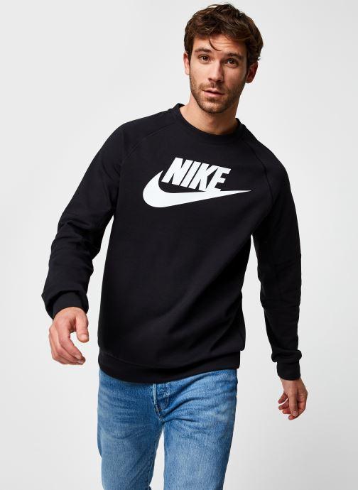 Vêtements Nike M Nsw Modern Crw Flc Hbr Noir vue détail/paire
