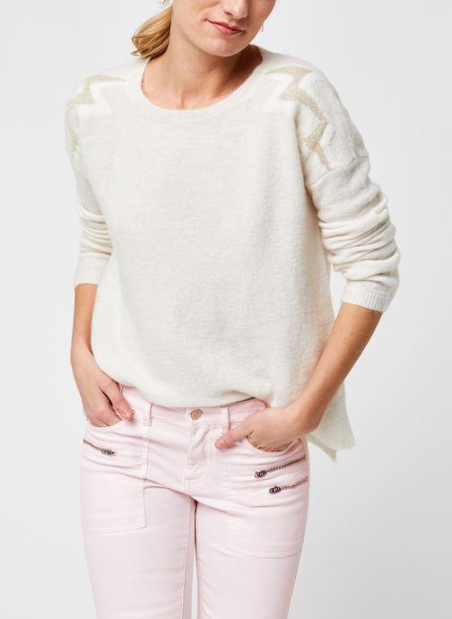 Vêtements IKKS Women BS18025 Beige vue détail/paire