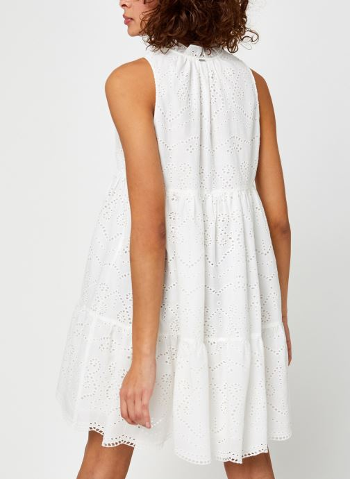 Vêtements IKKS Women BQ30805 Blanc vue portées chaussures