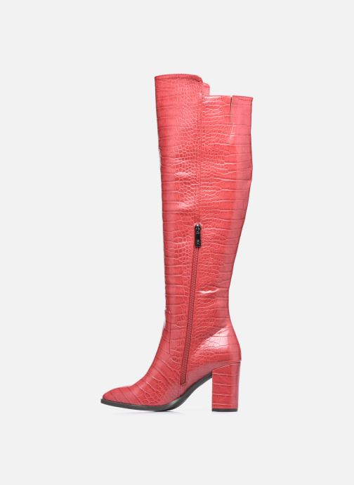 Stiefel Xti 44642 rot ansicht von vorne