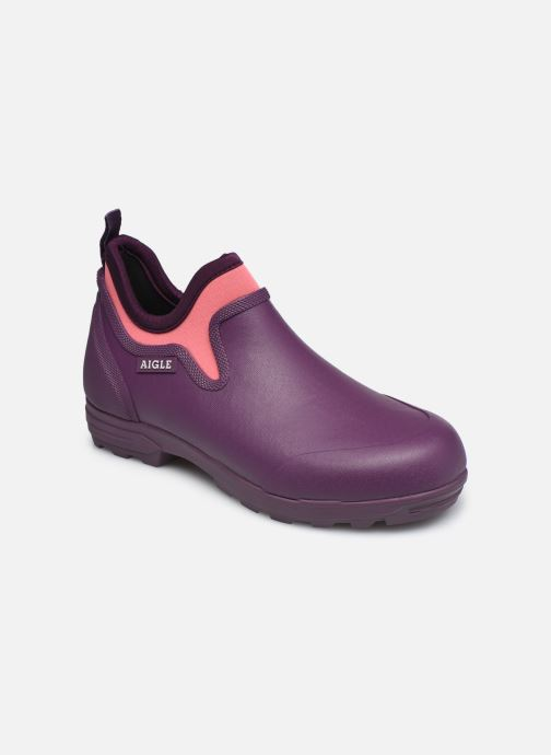 Bottines et boots Aigle Lessfor Plus Violet vue détail/paire