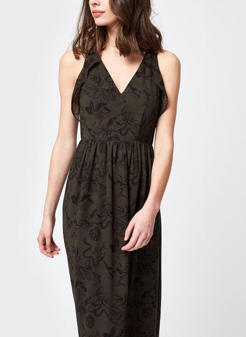 Vêtements IKKS Women BS30235 Vert vue détail/paire