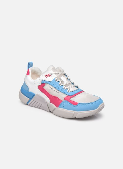 Baskets Skechers Block West Bleu vue détail/paire