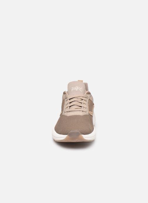 Sneaker Skechers Split Litman beige schuhe getragen