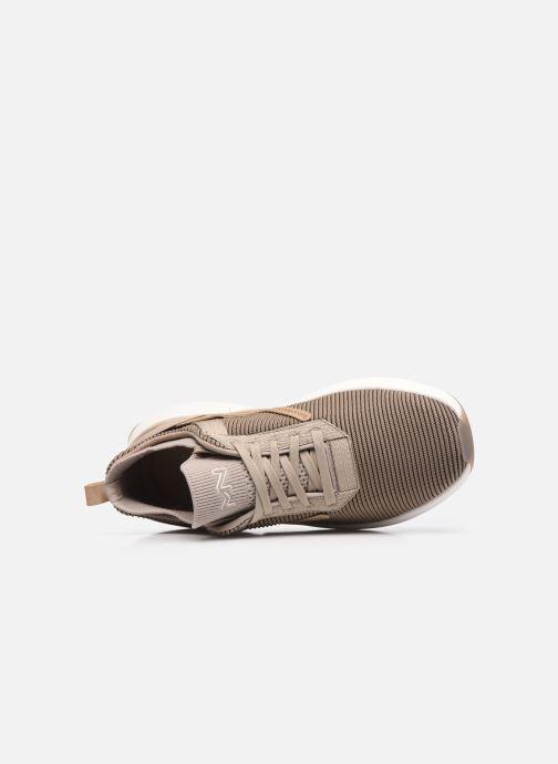 Sneaker Skechers Split Litman beige ansicht von links