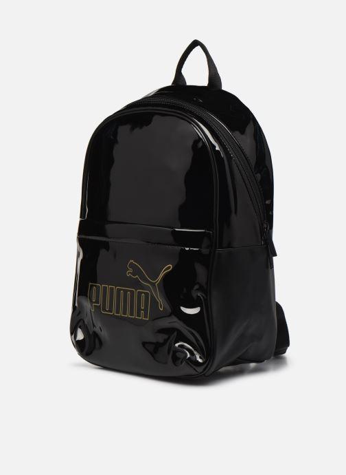 Rucksäcke Puma Core Up Backpack schwarz schuhe getragen