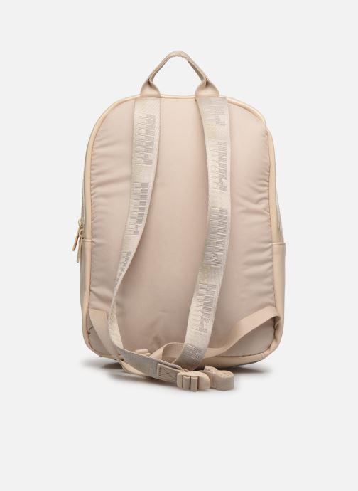 Rucksäcke Puma Core Up Backpack beige ansicht von vorne