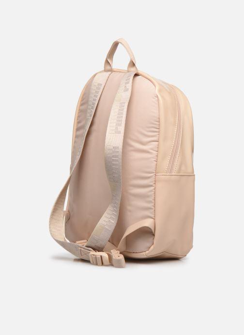 Mochilas Puma Core Up Backpack Beige vista lateral derecha