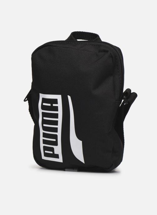Borse uomo Puma Plus Portable Ii Nero modello indossato