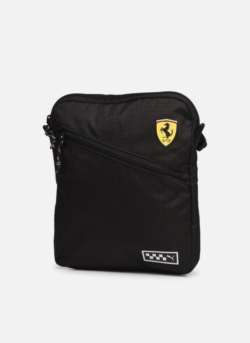 Borse uomo Puma Ferrari Portable Nero modello indossato