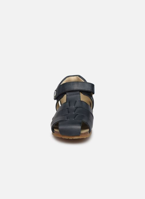 Sandales et nu-pieds Naturino Falcotto Alby Bleu vue portées chaussures