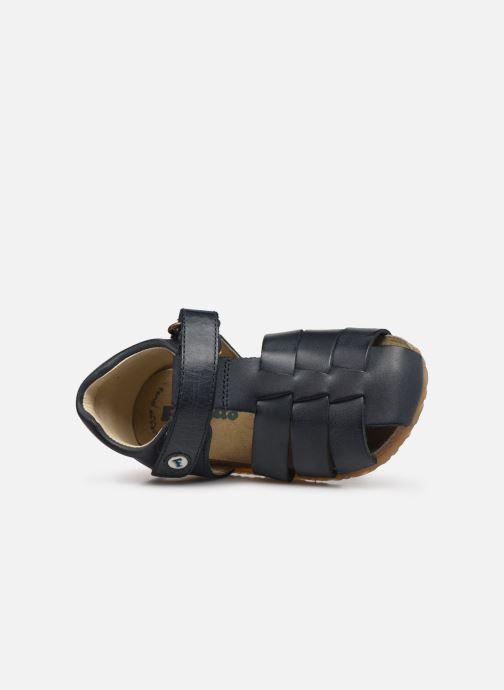 Sandales et nu-pieds Naturino Falcotto Alby Bleu vue gauche