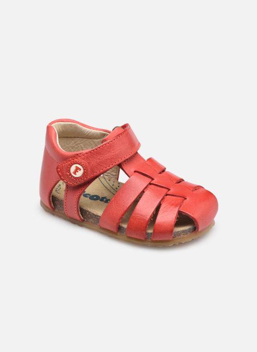 Sandales et nu-pieds Naturino Falcotto Alby Rouge vue détail/paire