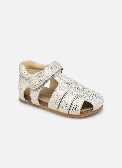Sandales et nu-pieds Naturino Falcotto Alby Argent vue détail/paire