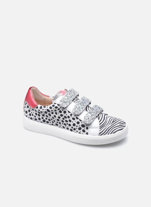 Sneakers Acebo's 9878HI Wit detail
