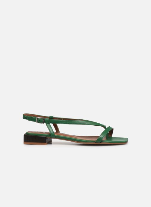 Sandales et nu-pieds Made by SARENZA Exotic Vibes Sandales Plates #1 Vert vue détail/paire