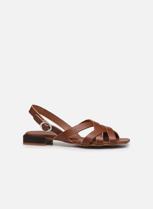 Sandalen Made by SARENZA Rustic Beach Sandales Plates #1 braun detaillierte ansicht/modell