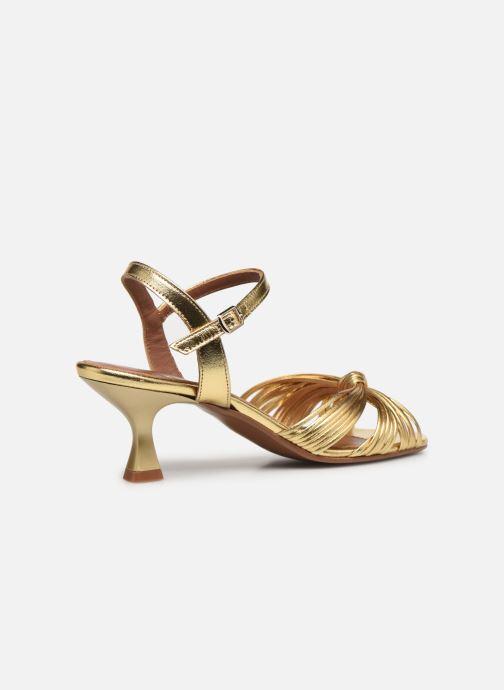 Sandalen Made by SARENZA Exotic Vibes Sandales à Talons #2 gold/bronze ansicht von vorne