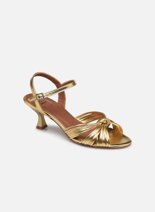Sandalen Made by SARENZA Exotic Vibes Sandales à Talons #2 gold/bronze ansicht von rechts