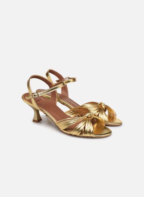 Sandalen Made by SARENZA Exotic Vibes Sandales à Talons #2 gold/bronze ansicht von hinten