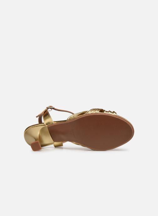 Sandalen Made by SARENZA Exotic Vibes Sandales à Talons #2 gold/bronze ansicht von oben