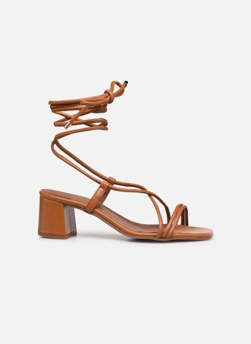 Sandales et nu-pieds Made by SARENZA Exotic Vibes Sandales à Talons #3 Marron vue détail/paire