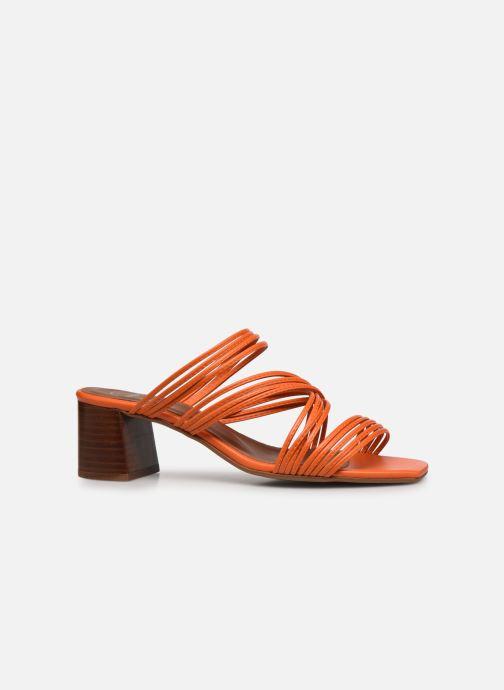 Sandales et nu-pieds Made by SARENZA Exotic Vibes Sandales à Talons #5 Orange vue détail/paire