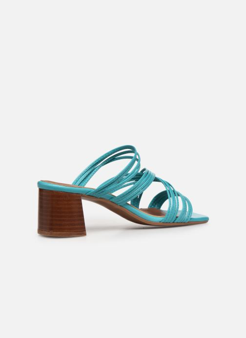 Sandalen Made by SARENZA Exotic Vibes Sandales à Talons #5 Blauw voorkant