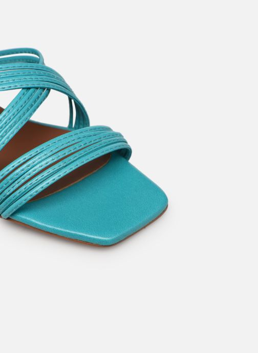 Sandalen Made by SARENZA Exotic Vibes Sandales à Talons #5 Blauw links