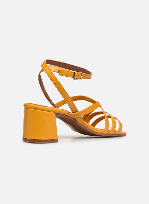 Sandalen Made by SARENZA Exotic Vibes Sandales à Talons #6 gelb ansicht von vorne