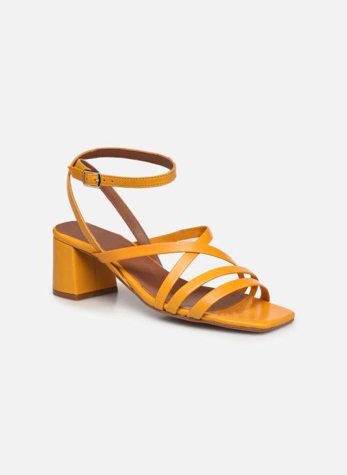 Sandali e scarpe aperte Made by SARENZA Exotic Vibes Sandales à Talons #6 Giallo immagine destra