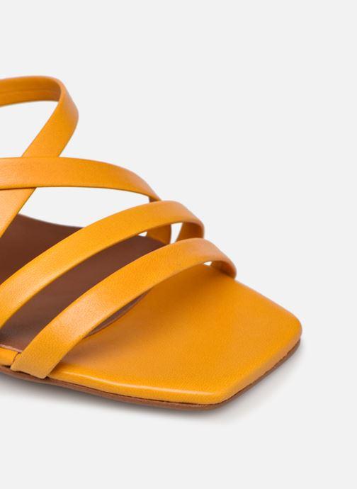 Sandali e scarpe aperte Made by SARENZA Exotic Vibes Sandales à Talons #6 Giallo immagine sinistra