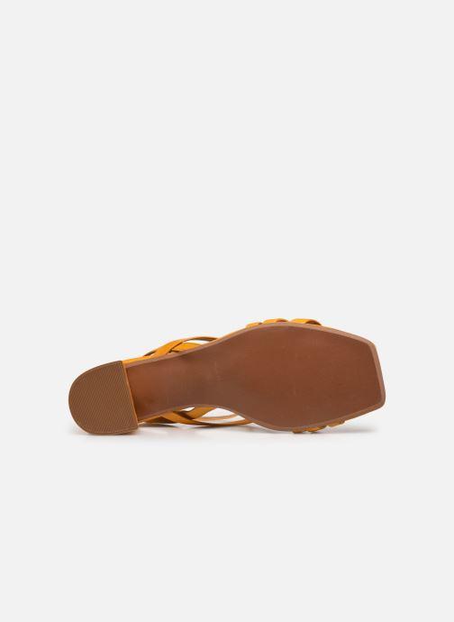 Sandali e scarpe aperte Made by SARENZA Exotic Vibes Sandales à Talons #6 Giallo immagine dall'alto