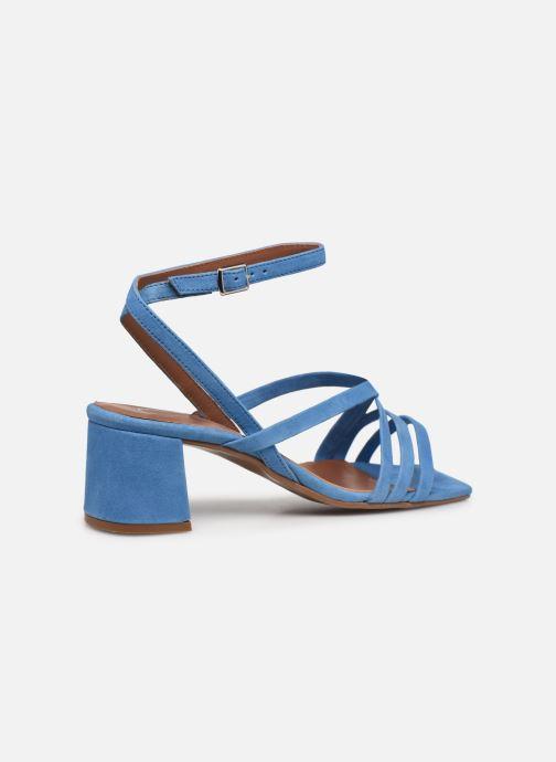 Sandalen Made by SARENZA Exotic Vibes Sandales à Talons #6 blau ansicht von vorne