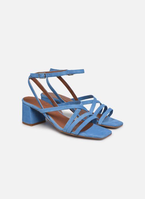 Sandalen Made by SARENZA Exotic Vibes Sandales à Talons #6 blau ansicht von hinten