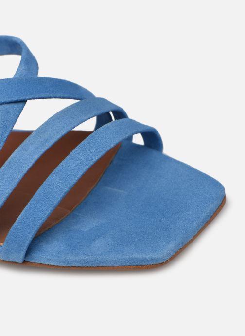 Sandalen Made by SARENZA Exotic Vibes Sandales à Talons #6 blau ansicht von links