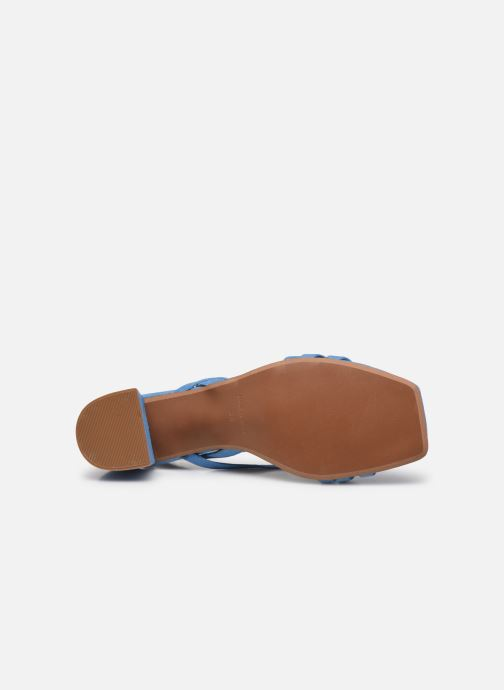 Sandalen Made by SARENZA Exotic Vibes Sandales à Talons #6 blau ansicht von oben