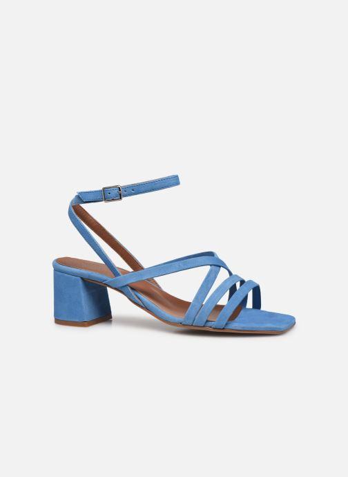 Sandalen Made by SARENZA Exotic Vibes Sandales à Talons #6 Blauw detail